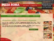 screenshot http://www.pizza-roma-argentan.com italienne Pizza Roma