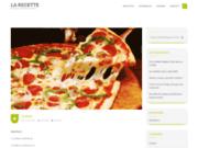 screenshot http://www.pizza.la-recette.net/ recette de pizza