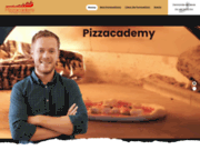 screenshot http://www.pizzacademy.fr formation stage et école de pizzaïolo
