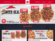 screenshot https://www.pizzahuttunisia.com/ Pizza Hut