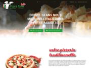 screenshot https://www.pizzaunobis.be/ Pizza Uno Bis