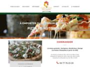screenshot http://pizzeria-casacoq.fr/ pizzeria rôtisserie à Savigneux Montbrison