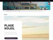 screenshot http://www.plage-soleil.fr annuaire thématique plage