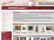 screenshot http://www.plaisir-deco.com/ magasin de décoration intérieur