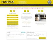 screenshot http://www.plakinox.fr crédence en inox