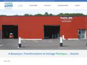 screenshot http://www.plastic2000.fr plastic 2000 industrie