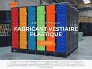 screenshot http://plastivestiaire.com armoire vestiaire plastique