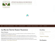 screenshot http://www.plateau-valensole.fr au mas de trotte-vache - gites ruraux en provence, amande, olive