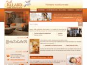 screenshot http://www.platrier-isolation-49-allard.com plâtrerie allard joël
