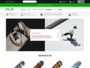 screenshot http://playskateshop.com/ play skateshop france béziers
