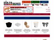 Grosssite en emballages et jetables pour les restaurants, hôtels et commerces