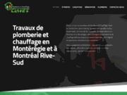 screenshot https://www.plomberieetchauffageclavet.com/ Plomberie à Châteauguay