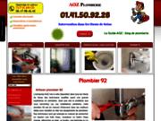 screenshot http://plombier-92.fr plombier 92