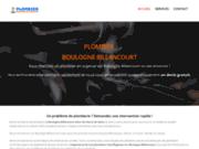screenshot http://plombier-boulogne-billancourt.fr/ Plombier Boulogne Billancourt