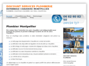 screenshot http://www.plombier-montpellier.com/ plombier chauffagiste montpellier