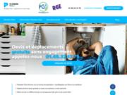 screenshot http://www.plombier-paris.fr plombier
