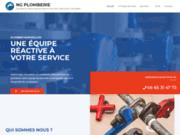 screenshot https://www.plombier-sanitaire-montpellier.fr/ Plombier Montpellier