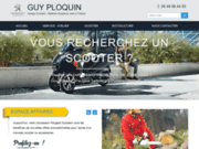 screenshot http://www.ploquin-scooter-motoculture-86.com/ scooters peugeot et motoculture poitiers 86
