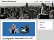 Plus de webmarketing