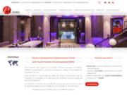 screenshot http://www.pmthotels.com Formations en Yield Management pour hôtels indépendants