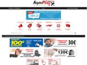 Site web du réseau des centres auto First Stop - Alphipneux dans l'Ain
