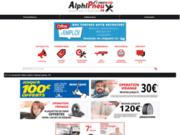 screenshot https://pneu74.fr Réseau Firststop Alphipneux Haute-Savoie, pneumatiques et mécanique