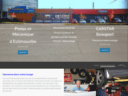 screenshot http://www.pneusmecanique.com pneus et mécanique d'estimauville, le spécialiste des pneus à québec