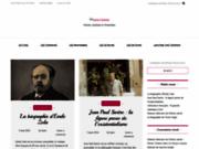 screenshot http://www.poesie-citation.fr/ poèmes et citations