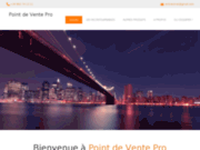 screenshot http://www.point-vente-pro.com/ Point de Vente Pro