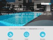 screenshot http://www.polyplastic-piscine-34.com revêtement de piscines poly plastic