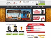 screenshot http://www.pompe-a-biere.com tireuses à bières