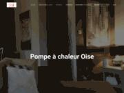 screenshot https://www.pompe-a-chaleur-oise.com pompe à chaleur à Oise