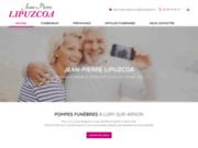 screenshot http://www.pompes-funebres-lipuzcoa.com organisation obsèques dans le Cher 18
