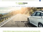 screenshot http://www.pons-pneus.com pons pneus