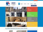 screenshot http://www.pontim.com agence immobilière pontarlier immobilier location