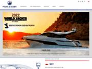 screenshot http://www.port-dhiver-yachting.com/ bateaux à moteur