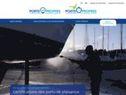screenshot http://www.port-propre.org ports propres - label de gestion environnementale