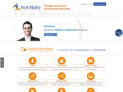 screenshot http://www.portability.fr port'ability