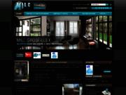 screenshot http://www.portail-fenetre-milc-41.com portes et fenêtres milc