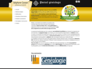 screenshot http://www.portail-genealogie.fr généalogie