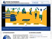screenshot http://Portail-Humanitaire.org portail francophone de la solidarité international