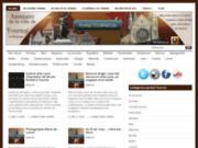 screenshot http://www.portail-tournai.be portail de tournai : magasin, ecole et infos