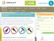Portail BTP, la reference online des services btp