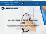 screenshot http://www.posture-shop.fr correcteurs de posture