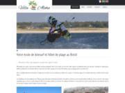 screenshot https://www.pousadavillaaloha.com/ Villa Aloha, hôtel et école de kitesurf au Brésil