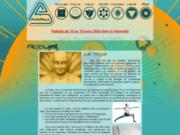 screenshot http://prasadhana.org/ Prasadhana propose des cours de Yoga traditionnel