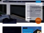 screenshot http://www.preciselec.net/ portes de garage