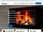 screenshot http://www.preciver.com/preciver.html preciver - découpe et traitement de verre industriel