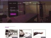 screenshot http://www.premium-spa-montreuil.com/ centre de soins à Montreuil