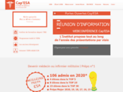 screenshot http://www.prepa-concours-esa.fr/ Préparation au concours ESA Médecin Militaire à Paris, Lyon, Toulouse